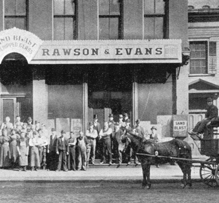 Rawson and Evans Factory